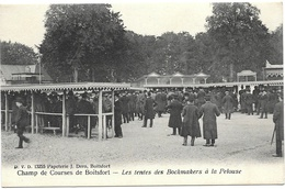 Boitsfort NA11: Champ De Courses. Les Tentes Des Bockmakers à La Pelouse - Watermael-Boitsfort - Watermaal-Bosvoorde