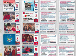 LOTTO 10 RICARICHE USATE TIM ULTIME EMISSIONI (5RL - [2] Sim Cards, Prepaid & Refills