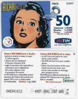RICARICA USATA TIM 1023 8 LUG00 OCR18 6891 - [2] Sim Cards, Prepaid & Refills
