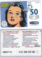 RICARICA USATA TIM 1023 8 LUG.2000 OCR 18 8401 - [2] Sim Cards, Prepaid & Refills