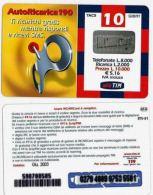 RICARICA USATA TIM 1262 AR-M GIU03 NV119 5581 - Italie