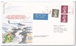 Engeland, Air Mail Envelope To West Germany - 1952-.... (Elizabeth II)