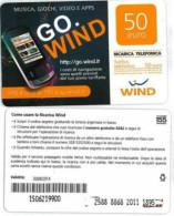 RICARICA USATA WIND GO WIND 50 30-6-14 1895 - Schede GSM, Prepagate & Ricariche