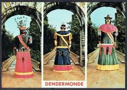DENDERMONDE / TERMONDE - Les Géants - Reusen Indiaan, Mars En Goliath -Non Circulé - Not Circulated - Nicht Gelaufen. - Dendermonde