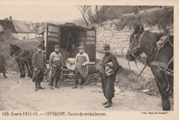 90 - OFFEMONT - 140. Guerre 1914-15 - Convoi De Ravitaillement. - Offemont