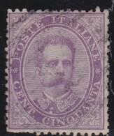 Italy     .   Yvert     38              .        O               .           Cancelled - 1878-00 Umberto I