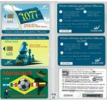 LOTTO 3 SCHEDE PREPAGATE ALBACOM (ALB12 - GSM-Kaarten, Aanvulling & Voorafbetaald