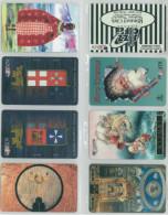 LOTTO 8 SCHEDE TELEFONICHE ATW DIFFERENTI (1 - [2] Sim Cards, Prepaid & Refills