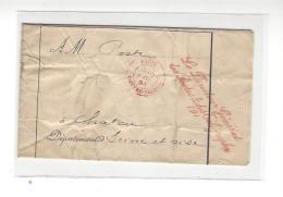 FRANCHISE Le Directeur Général Des Postes Et Télégraphes Paris Contre-Seing 1894 ( Sans Correspondance ) - Marcophilie (Lettres)