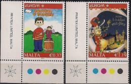 2010 Malta Mi. 1642-3** MNH - Europa-CEPT
