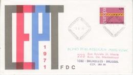 Europa Cept 1971 Finland 1v FDC (F5685R) - 1971