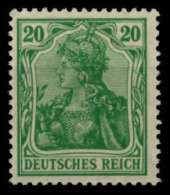 D-REICH INFLA Nr 143b Postfrisch Gepr. X71B6CA - Germany