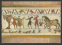 BAYEUX Tapisserie De La Reine Mathilde Les Messagers De Guillaume Viennent Exiger La Libération D'Harold - William - Bayeux