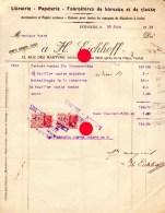 VERVIERS 1934 EICHHOFF - Imprimerie & Papeterie