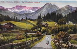 ADELBODEN → Partie Ausserhalb Des Dorfes Mit Dem Wildstrubel Anno 1921 - BE Berne