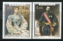 MONACO ( POSTE ) : Y&T N°  1245/1246  TIMBRES  NEUFS  SANS  TRACE  DE  CHARNIERE , A  VOIR . - Monaco