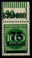 D-REICH INFLA Nr 288II W OR 1-11-1 Postfrisch ORA X72B4D6 - Germany