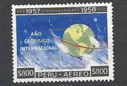 PERU    -  1961 Airmail - International Geophysical Year 589  Used - Peru