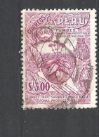 PERU    -  1962 Airmail - Personalities, Nature And Culture Of Peru #617 Tumbes, First Producing Area National Snuffused - Peru