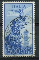 """PIA - ITA - Specializzazione : 1948 : Posta Aerea """"Campiodoglio""""  £ 500 - (SAS 144 - CAR 21 ) - 6. 1946-.. Repubblica"""