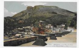 MONACO - N° 1024 - LE PLACE DU PALAIS ET LA TETE DE CHIEN - CPA NON VOYAGEE - Palacio Del Príncipe