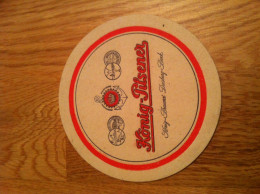 Konig-Pilsner Beer Coasters - Beer Mats