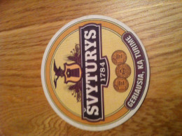 Svyturys Lithuania  Beer Coasters - Sous-bocks