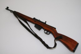 Vintage DRAGON IN DREAMS PARTS : GERMAN G43 RIFLE In Real Wood And Steel - Original - Scale 1/6 - DRAGON DID - Action Man