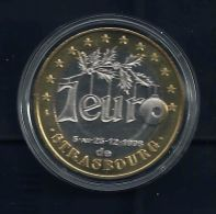 7 Euro Temporaire Precurseur De STRASBOURG  1996, RRRR,, BI, Nr.657 - Euro Der Städte