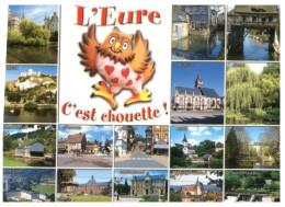 (M+S 778) France - Cartoon Owl - Chouette Et Hiboux - C'est Chouette L'Eure - Pájaros