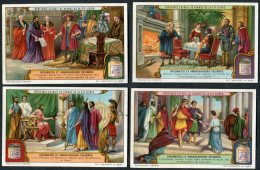 Liebig Set Of 6 Cards -  Diplomates Et Ambassadeurs Celebres - Liebig