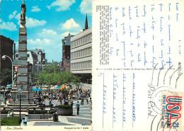 Union Plaza, New London, Connecticut, United States US Postcard Posted 1978 Stamp - Etats-Unis
