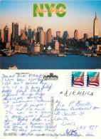 Skyline, New York City NYC, New York, United States US Postcard Posted 2000 Stamp - New York City