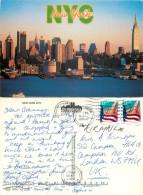 Hudson River, New York City NYC, New York, United States US Postcard Posted 2000 Stamp - New York City