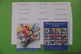 Blumenzauber / Kalender-Karten - Kurioses - Ewiger Schaltjahrkalender ... - Andere Sammlungen