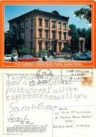 Casino,  Congress Park Cars, Saratoga, New York, United States US Postcard Posted 1988 Stamp - Saratoga Springs