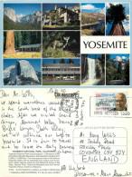 Yosemite National Park, California, United States US Postcard Posted 1990 Stamp - Yosemite
