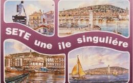 Hérault :  SETE  : Vues - Sete (Cette)