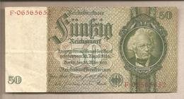 Germania - Banconota Circolata Da 50 Marchi - 1933 - [ 3] 1918-1933 : République De Weimar