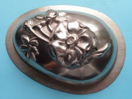 CHOCOLADEVORM / MOULE - CHOCOLAT MOLD Merk J.K.V. Tilburg N° 7003 BLOEM / FLEUR / FLOWER ( Vintage / Zie Foto´s ) ! - Other Collections
