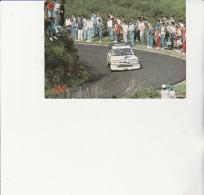 CARTE POSTALE -TOUR DE CORSE -TURBO B.SABY / J.F. FAUCHILLE - - Rallyes