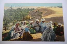 CPA TUNISIE TUNIS LEHNERT ET LANDROCK. école Coranique. - Tunisie