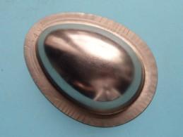 CHOCOLADEVORM / MOULE - CHOCOLAT MOLD Merk J.K.V. Tilburg N° 15496 EGG ( Vintage / Zie Foto´s ) ! - Autres Collections
