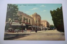 CPA TUNISIE TUNIS LEHNERT ET LANDROCK. Casino Et Théâtre. - Tunisie