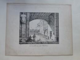 PARIS, Démolition Des Théatins, Litho Originale 1850 ?,  ; Ref 404 G04 - Estampes & Gravures