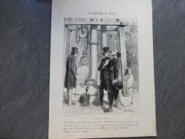 PARIS, Quartier De Grenelle, Puits,  Appareil Hydraulique,  Litho Originale  Vers 1850 ? ; Ref 409 G04 - Prints & Engravings