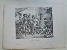 Kraffi Et Braunn Et Les Victimes De La Séduction,  Litho Originale Vers 1850  ; Ref 433  G04 - Estampes & Gravures