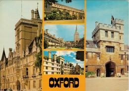OXFORD   VIEWS       2 SCAN    (VIAGGIATA) - Oxford