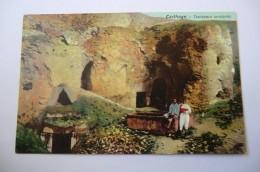 CPA TUNISIE TUNIS LEHNERT ET LANDROCK. Carthage Tombeaux Puniques. - Tunisie
