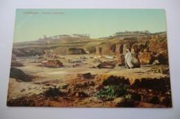 CPA TUNISIE TUNIS LEHNERT ET LANDROCK. Carthage Ruines Romaines. - Tunisie